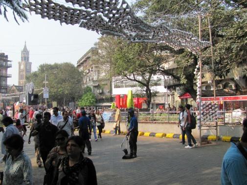 Arjun_rathi_cellular_fission_kalaghoda_arts_festival_origami_tetrahedrons_3