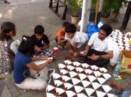 Arjun_rathi_cellular_fission_origami_folding_at_kalaghoda_4
