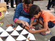 Arjun_rathi_cellular_fission_origami_folding_at_kalaghoda_5