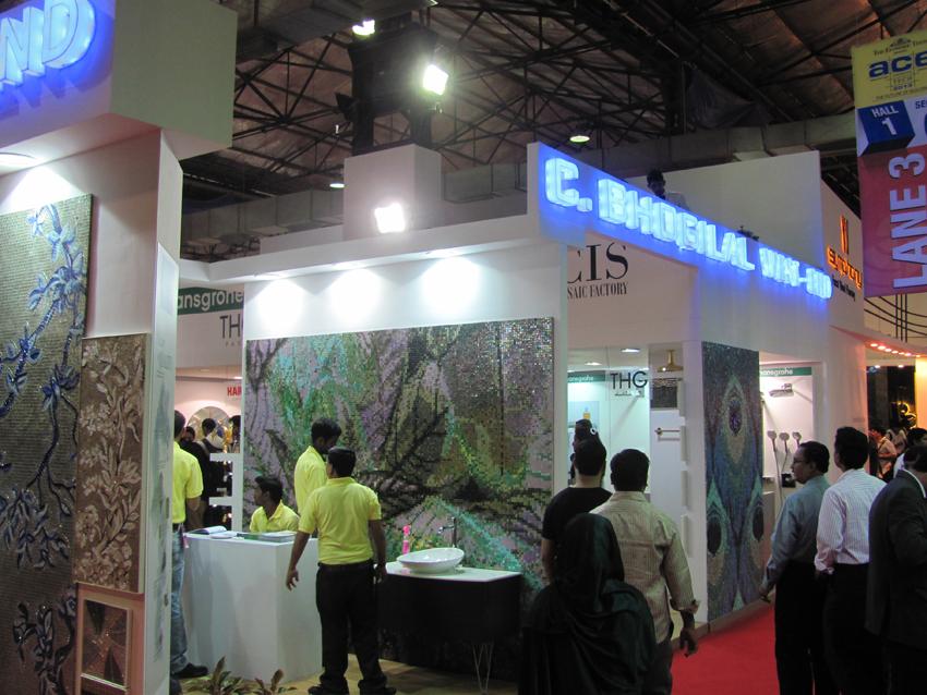 C Bhogilal Westend Stall Acetech 2013 Mumbai Arjun Rathi