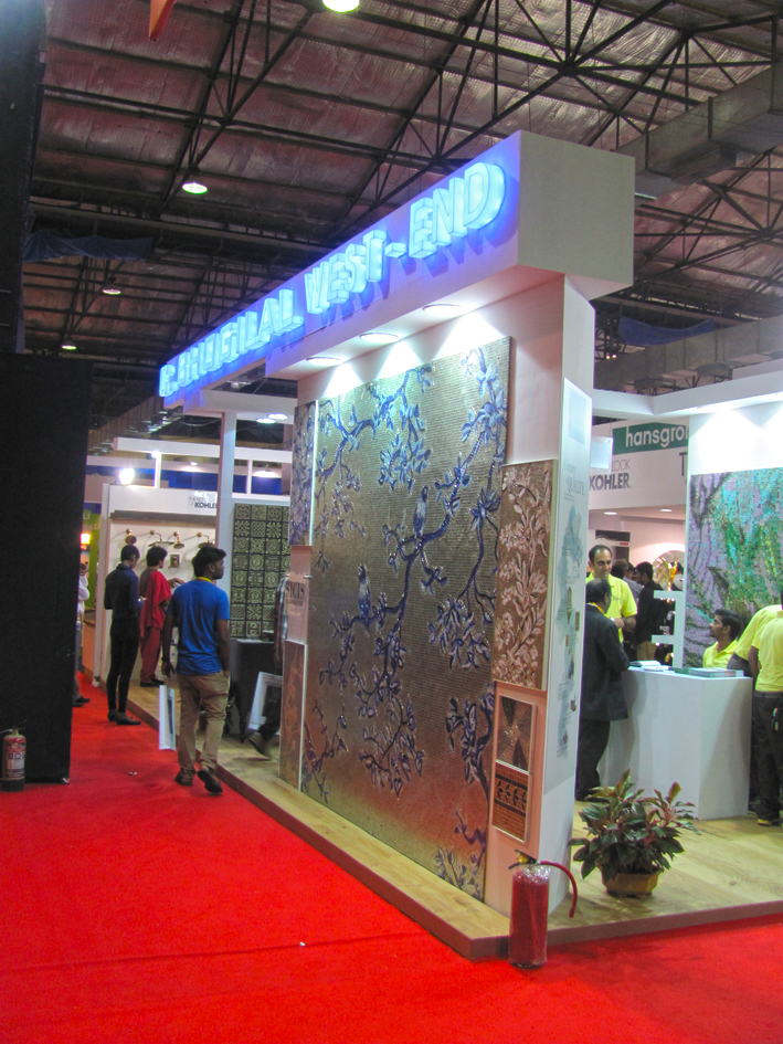 Exhibition Stall Icon : C bhogilal westend stall acetech mumbai arjun rathi