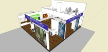 Arjun Rathi C Bhogilal Westend Exhibition Stall Acetech Render 1