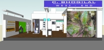 Arjun Rathi C Bhogilal Westend Exhibition Stall Acetech Render 2