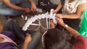 Arjun Rathi Frictional Origami Kalaghoda 2014 process 4