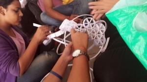 Arjun Rathi Frictional Origami Kalaghoda 2014 process 5