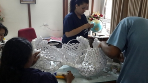 Arjun Rathi Frictional Origami Kalaghoda 2014 process 8