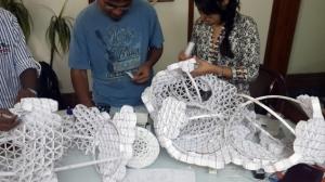 Arjun Rathi Frictional Origami Kalaghoda 2014 process 9