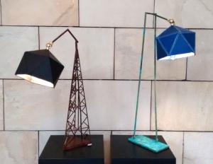 Arjun Rathi - Geodesic Lamp I and II 1