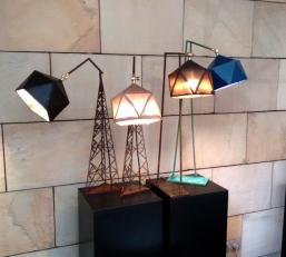 Arjun Rathi - Geodesic Lamp I and II 2