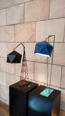 Arjun Rathi - Geodesic Lamp I and II 3